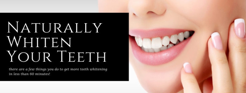 How to Naturally Whiten Your Teeth - London Teeth Whitening