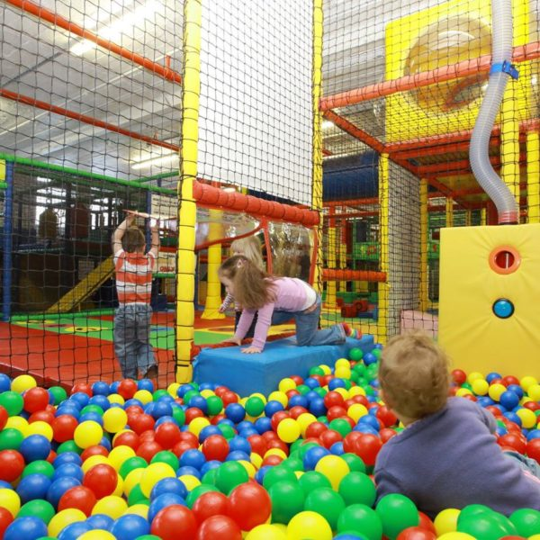 Indoor Play Structures Supplying Several Play Modes for Kids